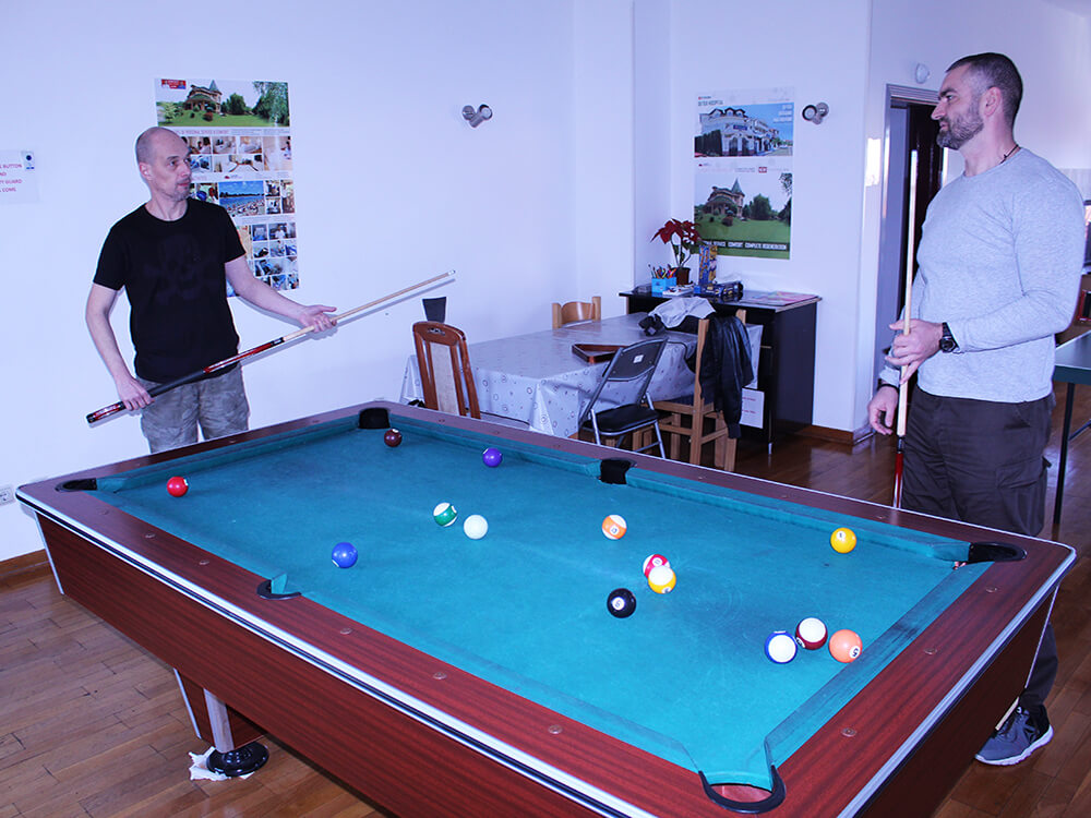 billiards recreation clinic dr vorobjev