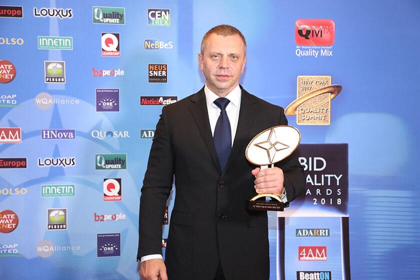 Nagrada za kvalitet Dr Vorobjev klinika za lecenje zavisnosti