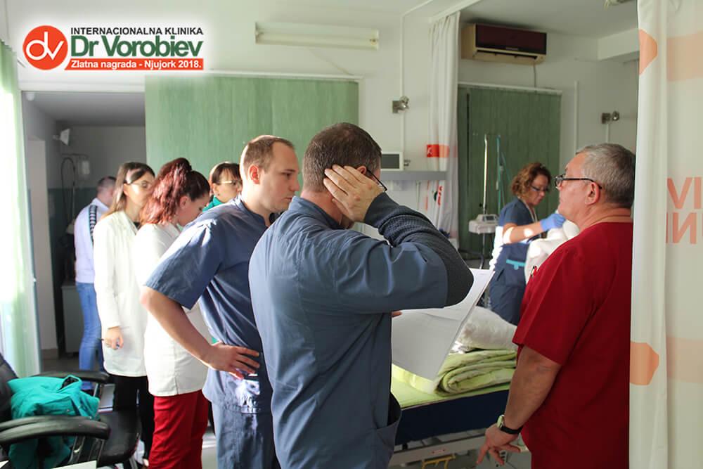 Dr. Vorobiev visit