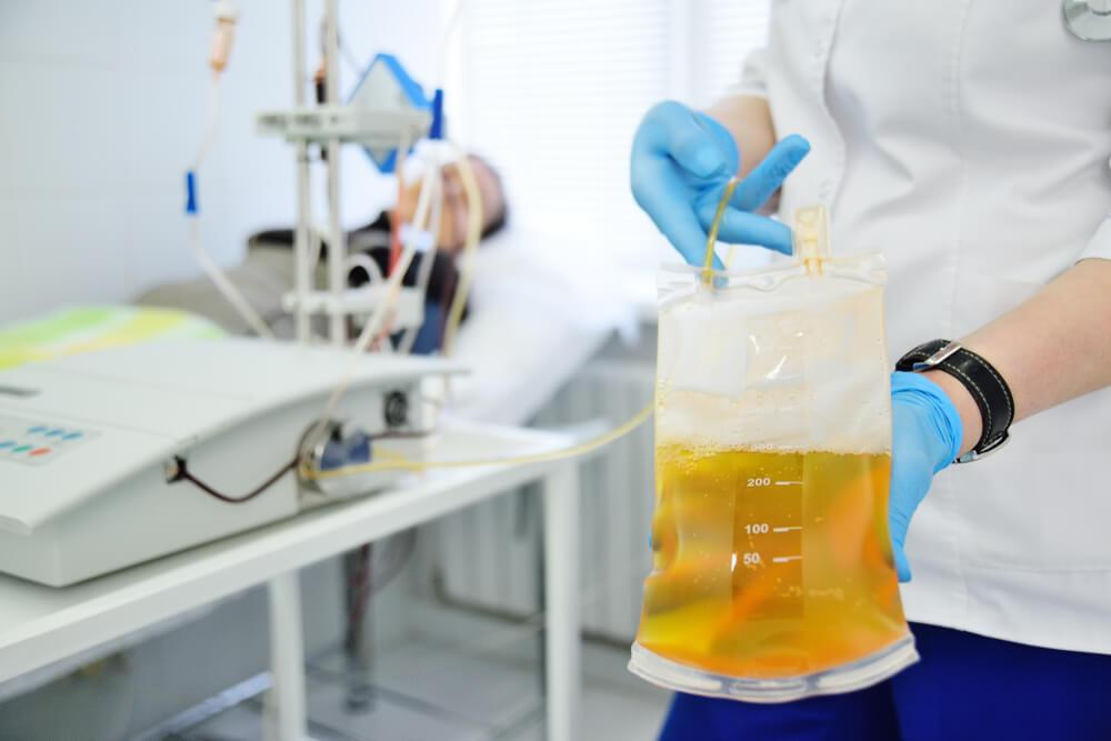 plasmapheresis treatment addiction