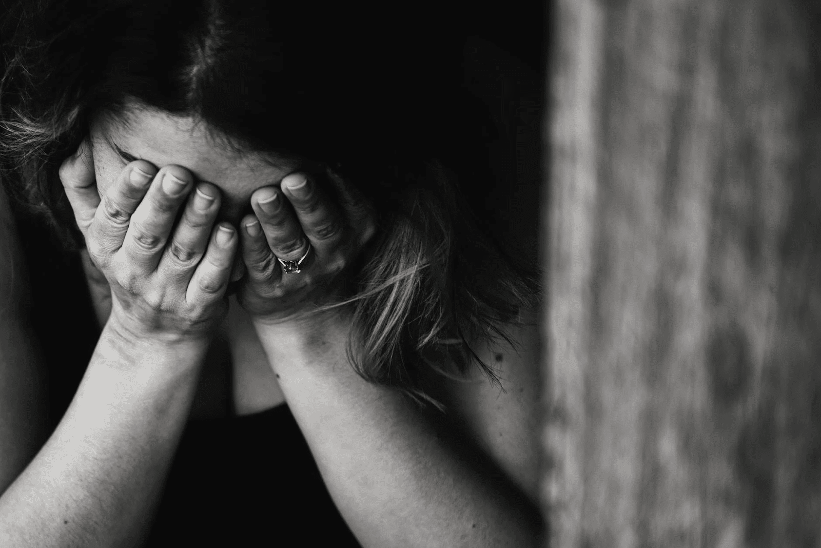 Žena koja pati od posledica zloupotrebe fentanila.